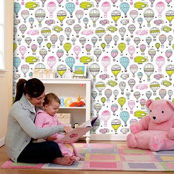 Papel de Parede para Quarto Infantil 0070 - Adesivos de Parede