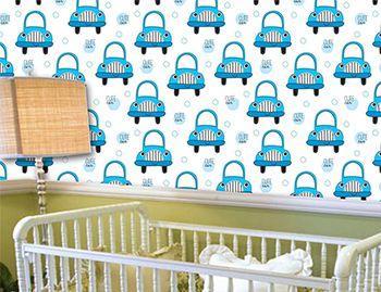 Papel de Parede para Quarto Infantil 0084 - Adesivos de Parede