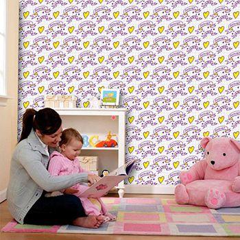 Papel de Parede para Quarto Infantil 0086 - Adesivos de Parede