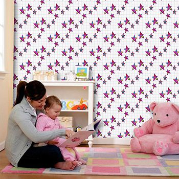 Papel de Parede para Quarto Infantil 0087 - Adesivos de Parede
