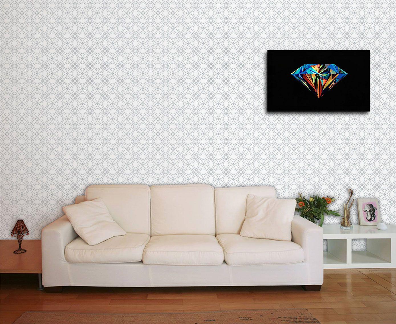 Papel de Parede para Sala Abstrato 0005