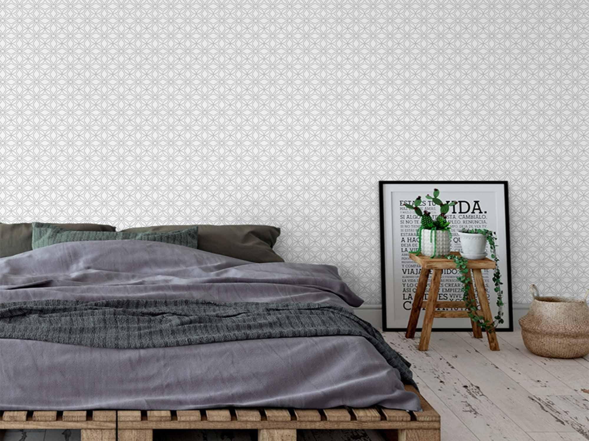 Papel de Parede para Sala Abstrato 0005  - Paredes Decoradas