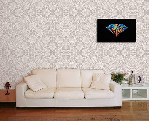 Papel de Parede para Sala Abstrato 0016