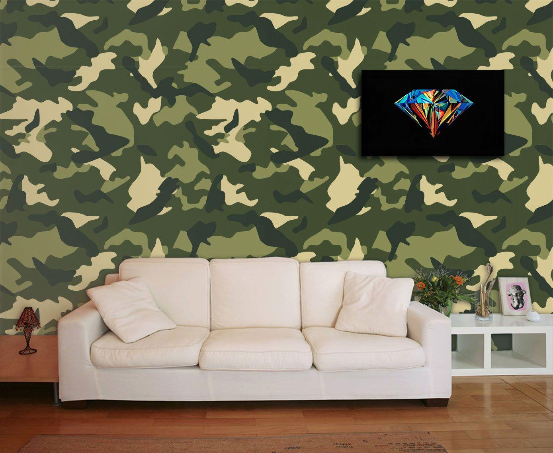 Papel de Parede para Sala Abstrato 0021  - Paredes Decoradas