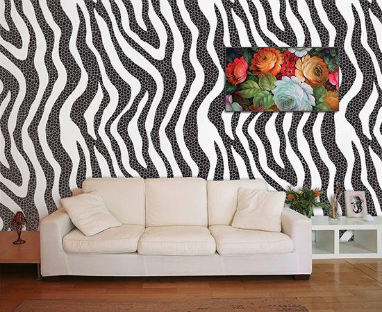 Papel de Parede para Sala Abstrato 0023  - Paredes Decoradas