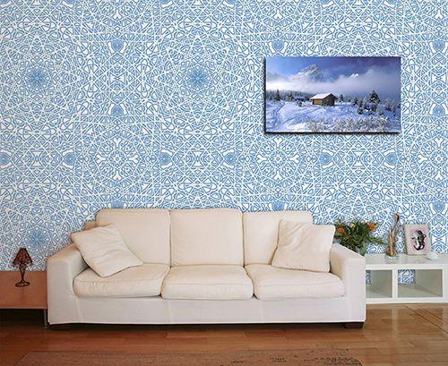 Papel de Parede para Sala Abstrato 0028
