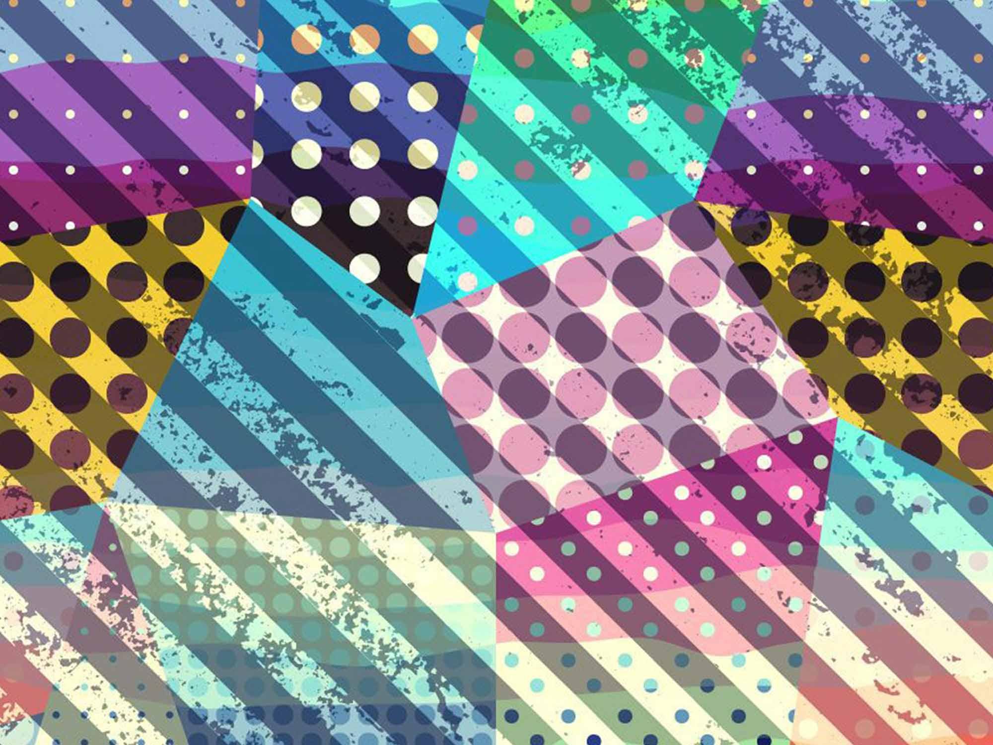 Papel de Parede para Sala Abstrato 0067  - Paredes Decoradas