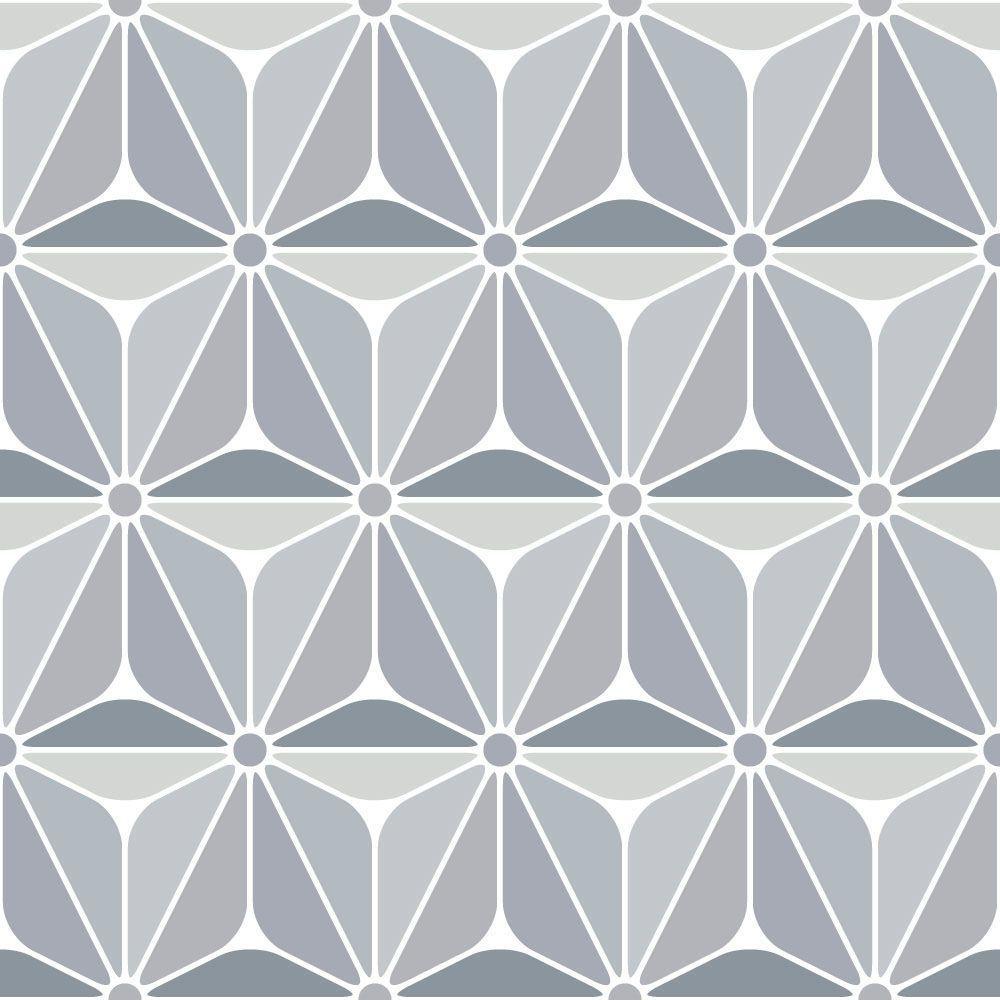 Papel de Parede para Sala Geométrico 0006 - Adesivos de Parede  - Paredes Decoradas