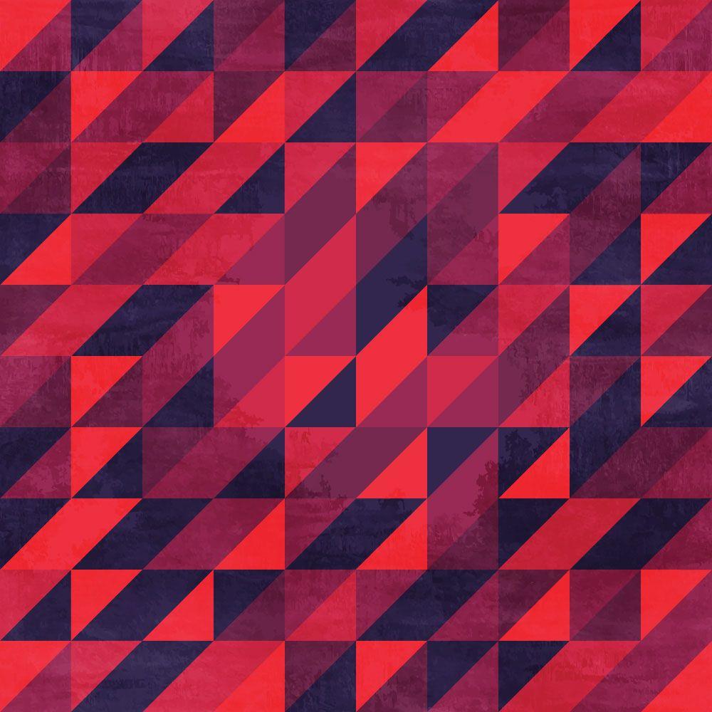 Papel de Parede para Sala Geométrico 0020 - Adesivos de Parede  - Paredes Decoradas