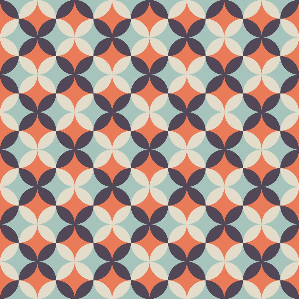 Papel de Parede para Sala Geométrico 0021 - Adesivos de Parede  - Paredes Decoradas