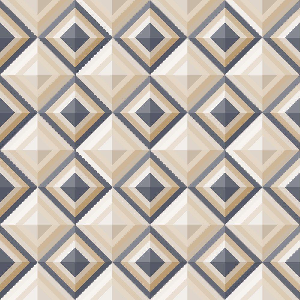 Papel de Parede para Sala Geométrico 0031 - Adesivos de Parede