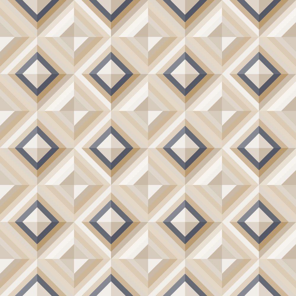 Papel de Parede para Sala Geométrico 0035 - Adesivos de Parede