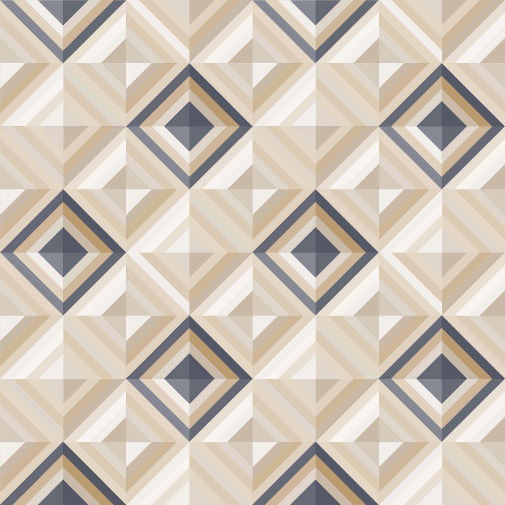 Papel de Parede para Sala Geométrico 0036 - Adesivos de Parede