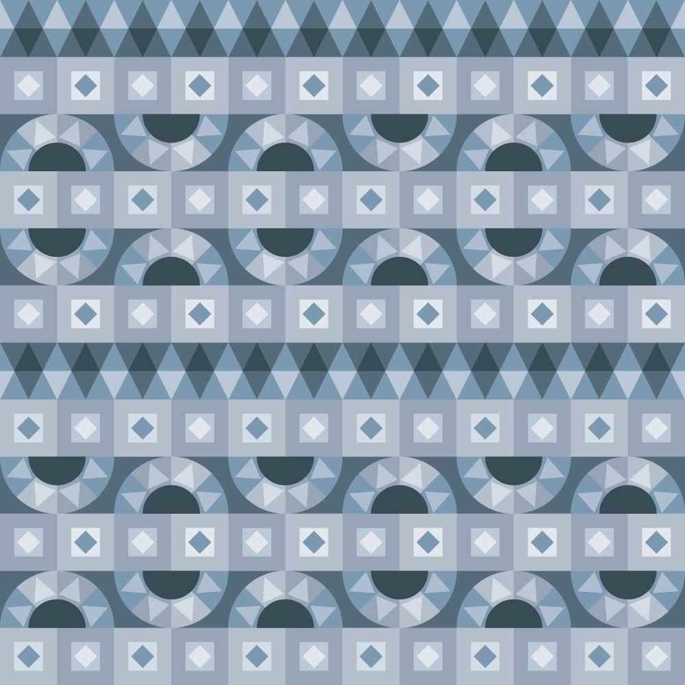Papel de Parede para Sala Geométrico 0063 - Adesivos de Parede  - Paredes Decoradas