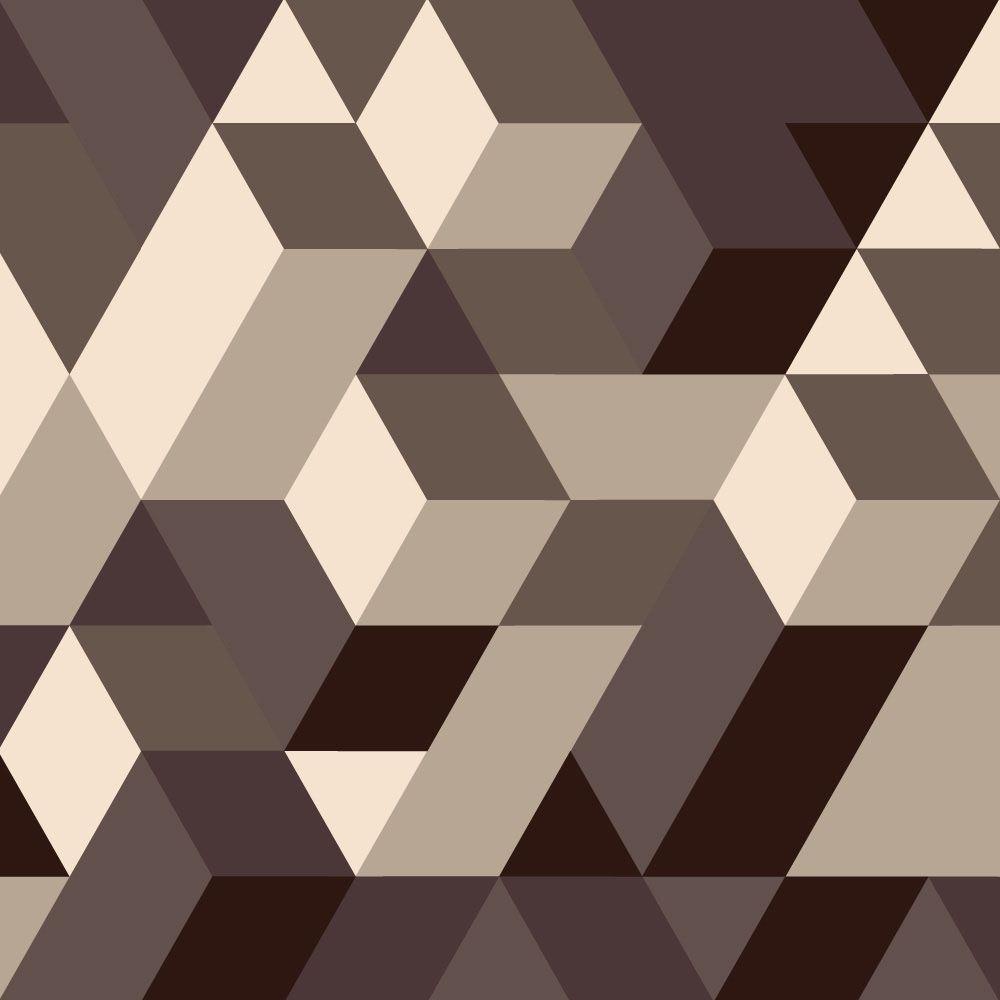 Papel de Parede para Sala Geométrico 0075 - Adesivos de Parede