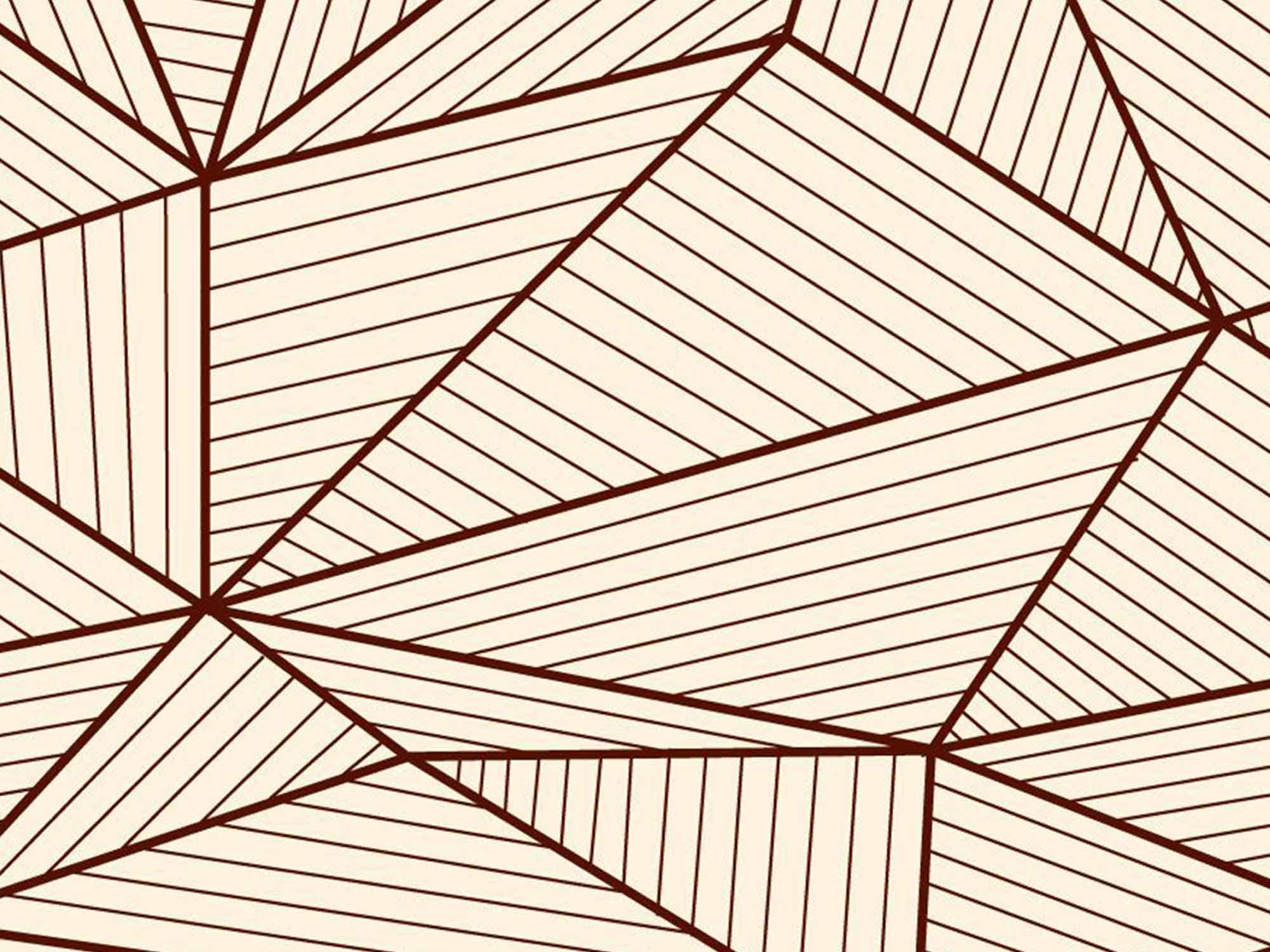 Papel de Parede para Sala Geométrico 0082 - Adesivos de Parede  - Paredes Decoradas
