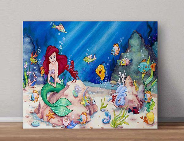 Quadro Decorativo Ariel 0004  - Paredes Decoradas