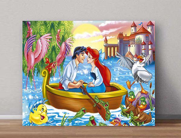 Quadro Decorativo Ariel 0007  - Paredes Decoradas