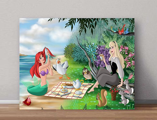 Quadro Decorativo Ariel 0010  - Paredes Decoradas
