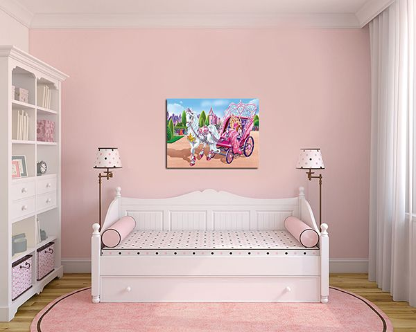 Quadro Decorativo Barbie 0001  - Paredes Decoradas