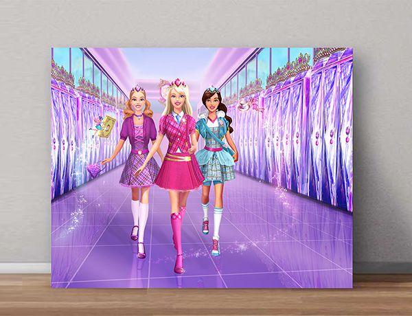 Quadro Decorativo Barbie 0003  - Paredes Decoradas