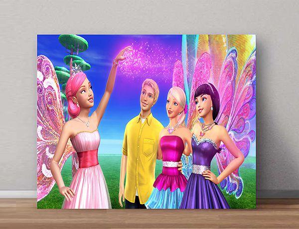 Quadro Decorativo Barbie 0004  - Paredes Decoradas