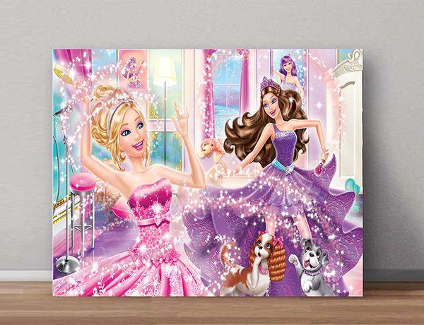 Quadro Decorativo Barbie 0006  - Paredes Decoradas