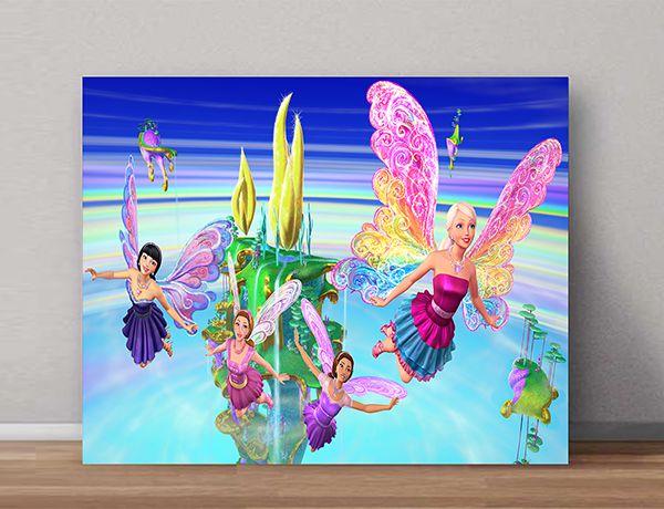 Quadro Decorativo Barbie 0007  - Paredes Decoradas