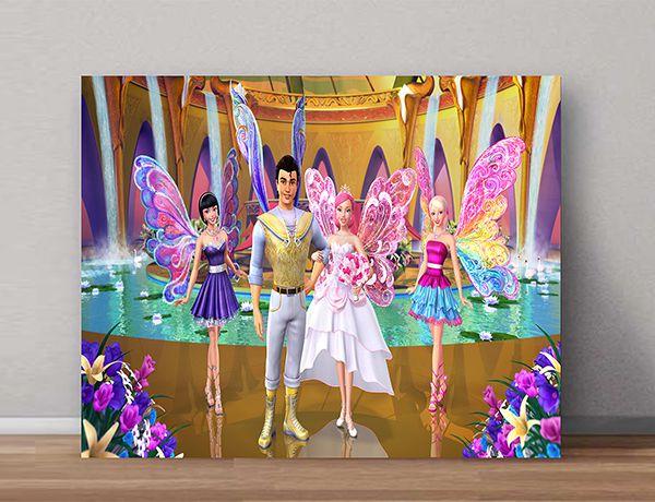 Quadro Decorativo Barbie 0008  - Paredes Decoradas