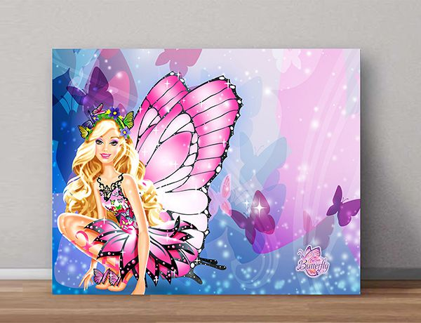 Quadro Decorativo Barbie 0009  - Paredes Decoradas