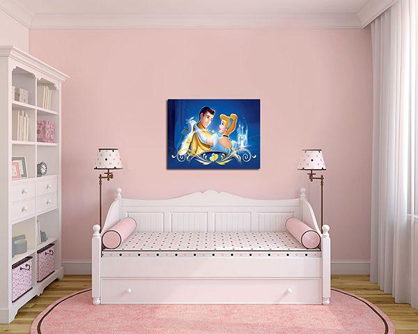 Quadro Decorativo Cinderela 0004