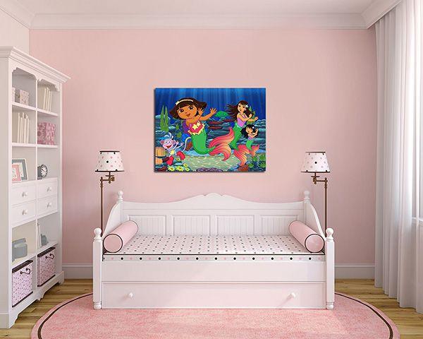 Quadro Decorativo Dora Aventureira 0003