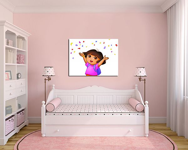 Quadro Decorativo Dora Aventureira 0004