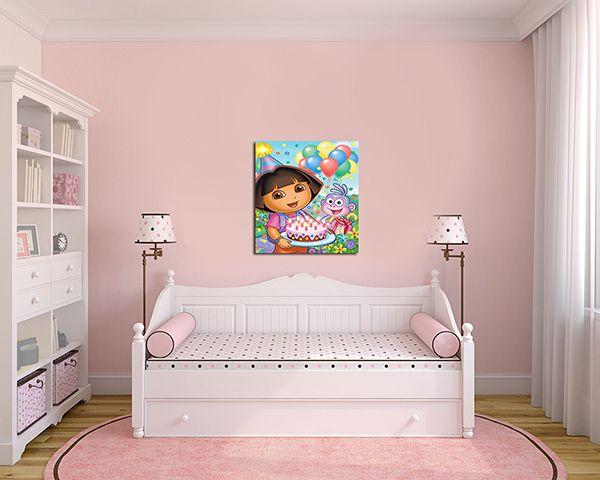 Quadro Decorativo Dora Aventureira 0005  - Paredes Decoradas