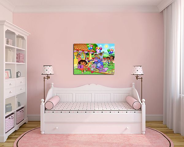 Quadro Decorativo Dora Aventureira 0006