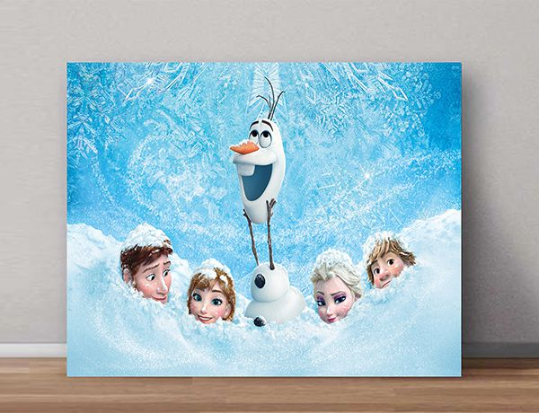 Quadro Decorativo Frozen 0001  - Paredes Decoradas