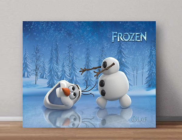Quadro Decorativo Frozen 0002  - Paredes Decoradas