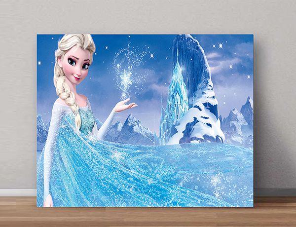 Quadro Decorativo Frozen 0003  - Paredes Decoradas