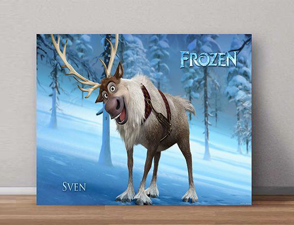 Quadro Decorativo Frozen 0005  - Paredes Decoradas
