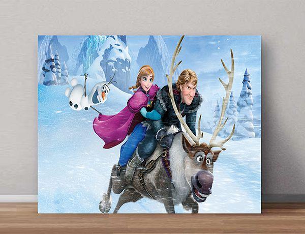 Quadro Decorativo Frozen 0006  - Paredes Decoradas