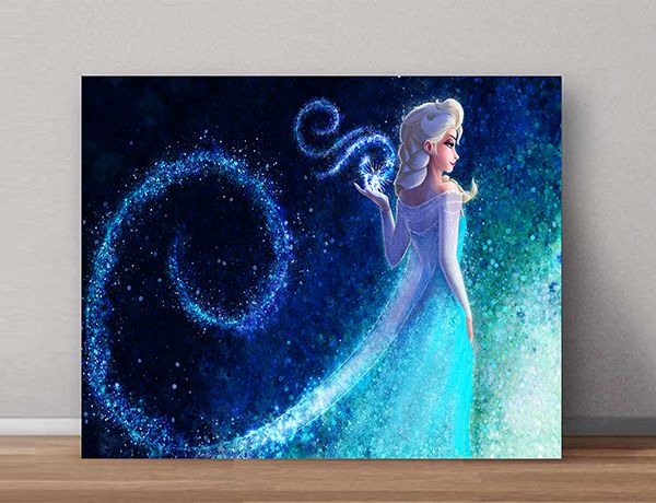 Quadro Decorativo Frozen 0007  - Paredes Decoradas