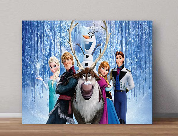Quadro Decorativo Frozen 0008 - Paredes Decoradas