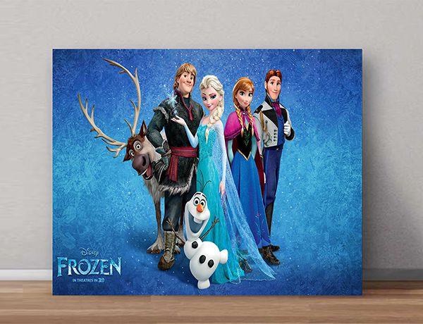 Quadro Decorativo Frozen 0009  - Paredes Decoradas