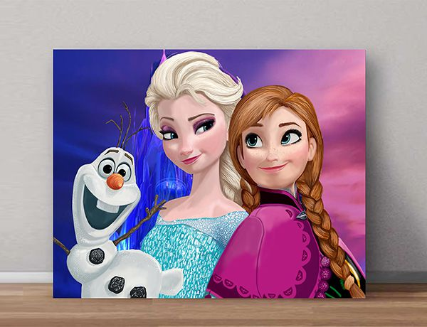 Quadro Decorativo Frozen 0010  - Paredes Decoradas