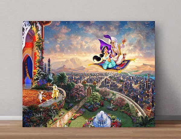 Quadro Decorativo Jasmine 0003  - Paredes Decoradas