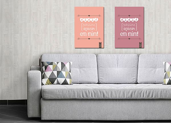 Quadro Decorativo Modernos 0022  - Paredes Decoradas
