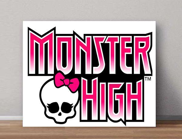 Quadro Decorativo Monster High 0003  - Paredes Decoradas