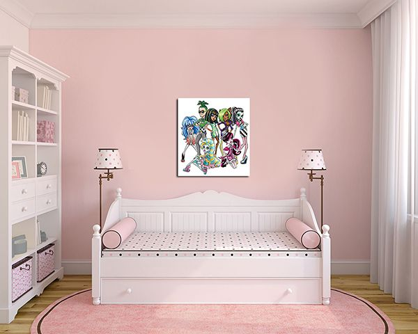 Quadro Decorativo Monster High 0013