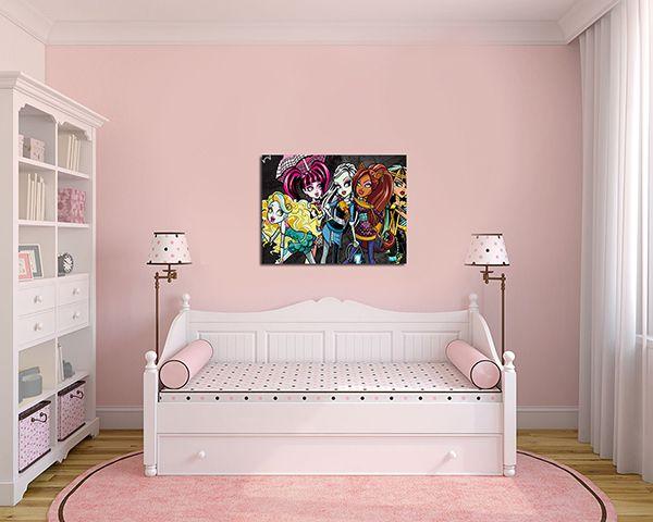 Quadro Decorativo Monster High 0014