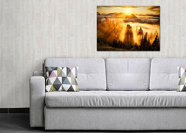 Quadro Decorativo Paisagens 0140  - Paredes Decoradas